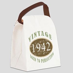 VinRetro1942 Canvas Lunch Bag