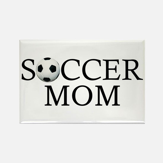 Soccer Mom Rectangle Magnet