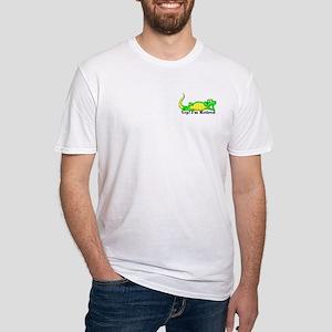 'Gator Gab.:-)' Fitted T-Shirt