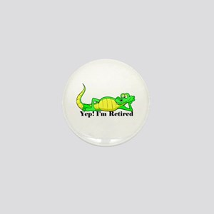 'Gator Gab.:-)' Mini Button