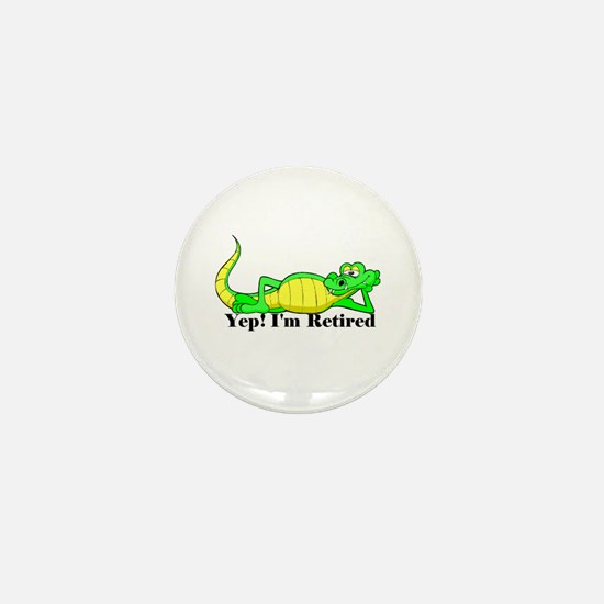'Gator Gab.:-)' Mini Button