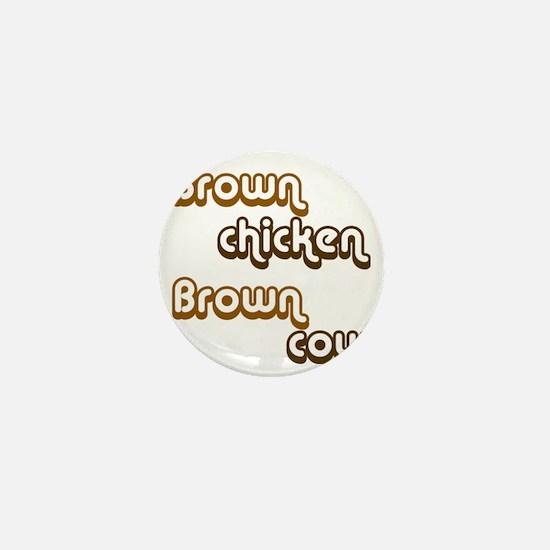 brown1 Mini Button