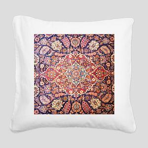 persian carpet 1 Square Canvas Pillow