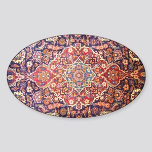 persian carpet 1 Sticker (Oval)