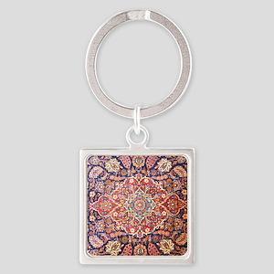 persian carpet 1 Square Keychain