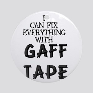 Gaff Tape Ornament (Round)