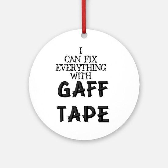 Gaff Tape Ornament (Round)