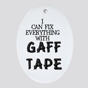 Gaff Tape Oval Ornament