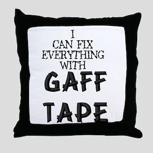 Gaff Tape Throw Pillow