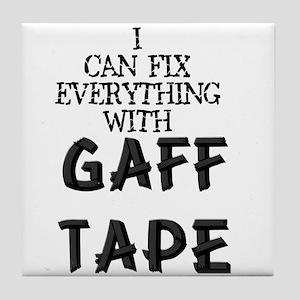 Gaff Tape Tile Coaster