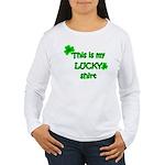 My Lucky Shirt Women's Long Sleeve T-Shirt