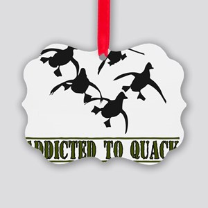 Quack-8x11L Picture Ornament