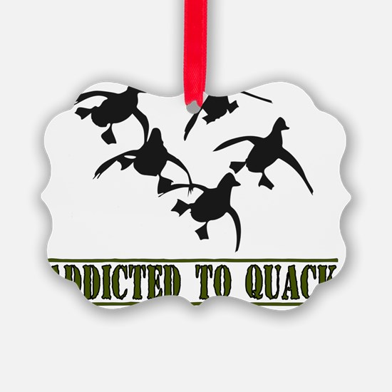 Quack-8x11L Ornament