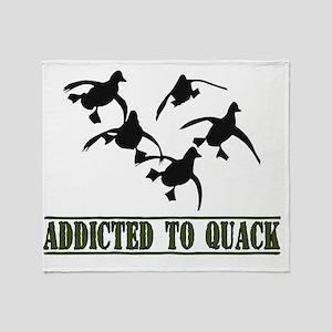 Quack-8x11L Throw Blanket