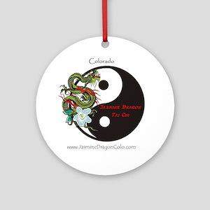 JasmineDragon Colorado Cafepress Lo Round Ornament