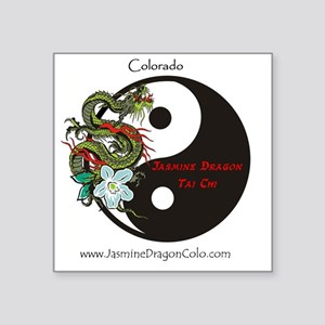 "JasmineDragon Colorado Cafe Square Sticker 3"" x 3"""
