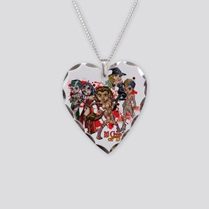 LilCreature11x11_pillowTrans Necklace Heart Charm