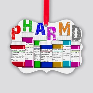 pharm D multi bottles 1 Picture Ornament