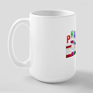 pharm D multi bottles 1 Large Mug