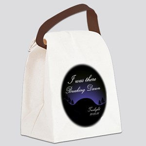 breaking dawn i was there2 Canvas Lunch Bag
