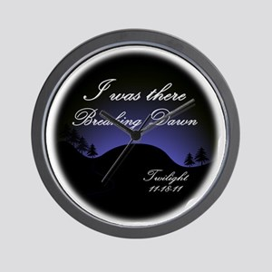 breaking dawn i was there2 Wall Clock