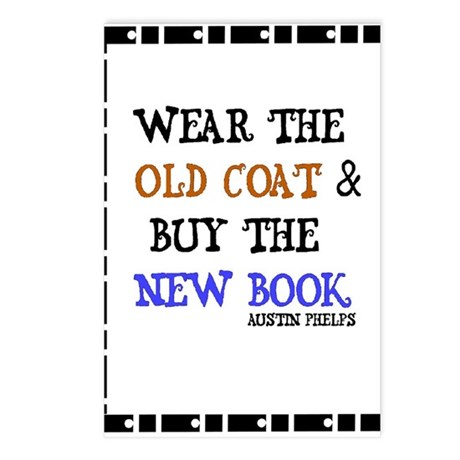 Wear the Old Coat Postcards (Package of 8)