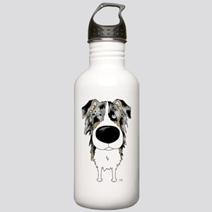 BlueMerleAussieShirtFr Stainless Water Bottle 1.0L