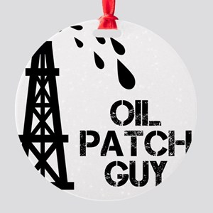oilpatch3 Round Ornament