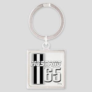 mustangbar65 Square Keychain