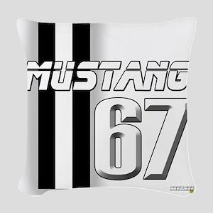 mustangbar67 Woven Throw Pillow