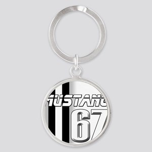 mustangbar67 Round Keychain