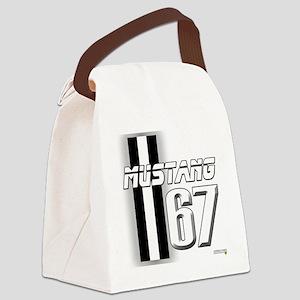 mustangbar67 Canvas Lunch Bag