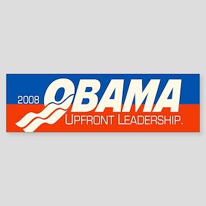 Upfront Leadership Bumper Sticker