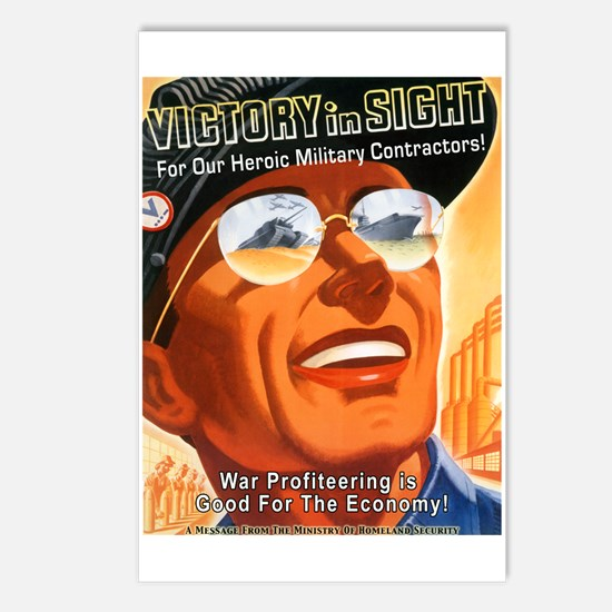 Victory in Sight Postcards (Package of 8)