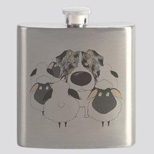 BlueMerleHerdingDk Flask