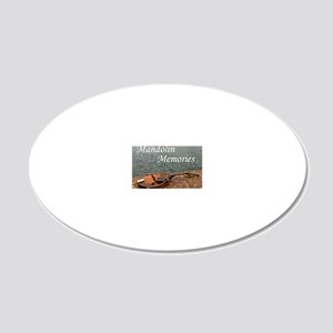 Cover_MandolinMemories_Gener 20x12 Oval Wall Decal