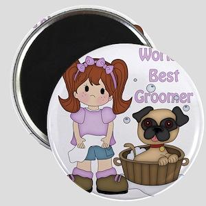 Worlds Best Groomer 3 Magnet