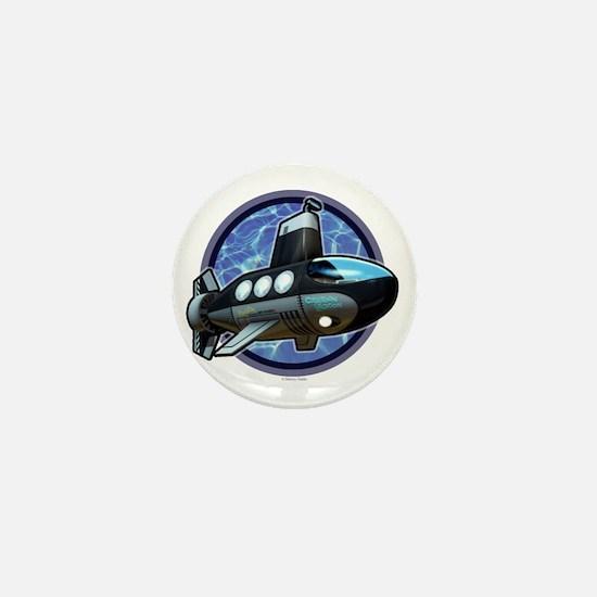 MantaRay#2 Mini Button