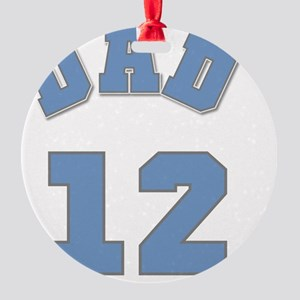 12BLUEDAD Round Ornament
