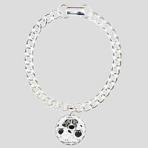BlueMerleHerdingLt Charm Bracelet, One Charm