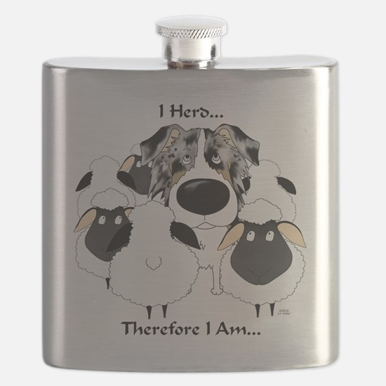 BlueMerleHerdingLt Flask