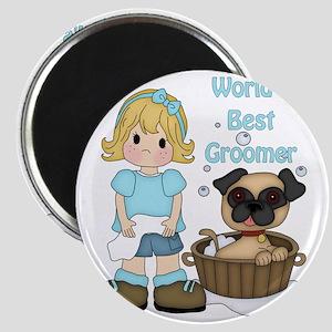 Worlds Best Groomer (2) Magnet