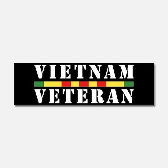 Vietnam Veteran Car Magnet 10 x 3