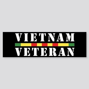 Vietnam Veteran Sticker (Bumper)