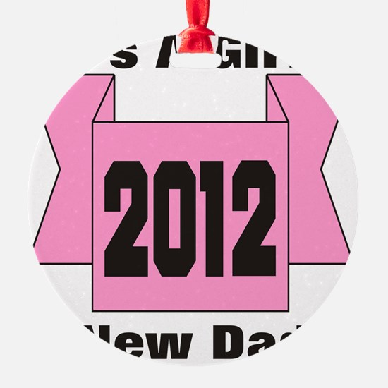 22cp2012pinkdad Ornament