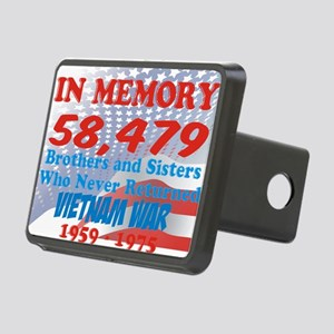 In memory Viet nam Brother Rectangular Hitch Cover