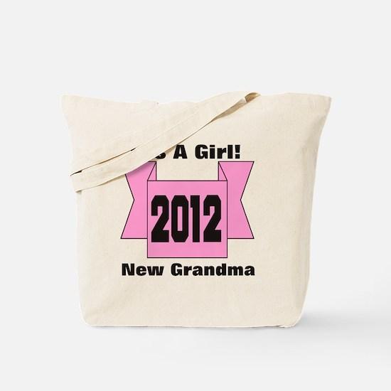 22cp2012pinkgrandMa Tote Bag
