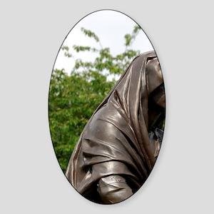 Lady Macbeth. Sticker (Oval)