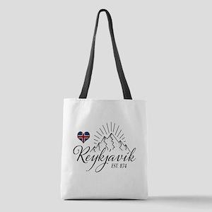 Reykjavik Polyester Tote Bag