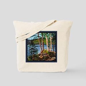 GLACIERLAKETHROWPILLOWCP Tote Bag